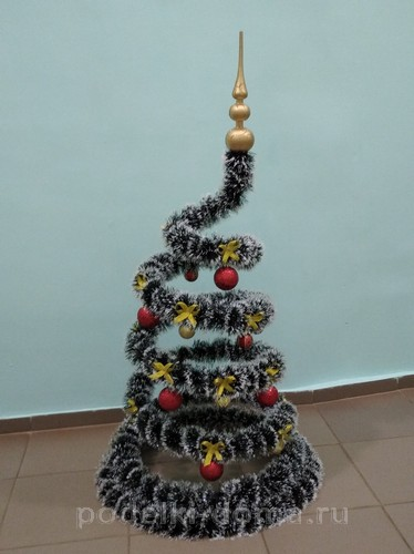 Рождестволық ағаштар мен шыршалар өз қолдарымен - 100-ден астам нұсқасы