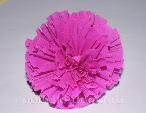 цветы из гофробумаги18