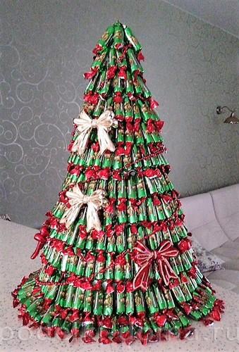 Árvore de Natal de doces Kislyuk Dia