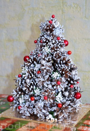 Weihnachtsbaum von Zapfen