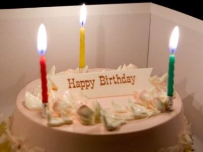 坂崎さん誕生日
