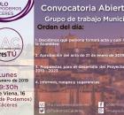 Asamblea de CACeresTú de 28 de enero de 2019