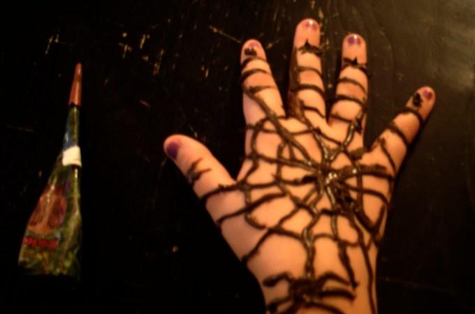Halloween e i tatuaggi con l'henné