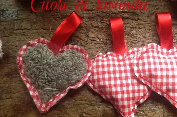 San Valentino: Cuori di Lavanda fai da te