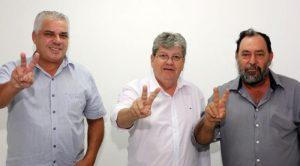 Mais reforços: prefeito de Manaíra confirma apoio de todo seu grupo político à candidatura de João