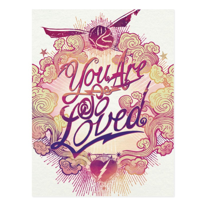 Harry Potter   You Are So Loved Postcard - Custom Fan Art
