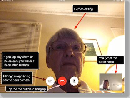 clarify iPad screenshot as described