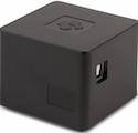 cubox closeup showing the ports