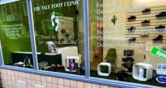 We sell specialist shoes and other foot care products in Barry