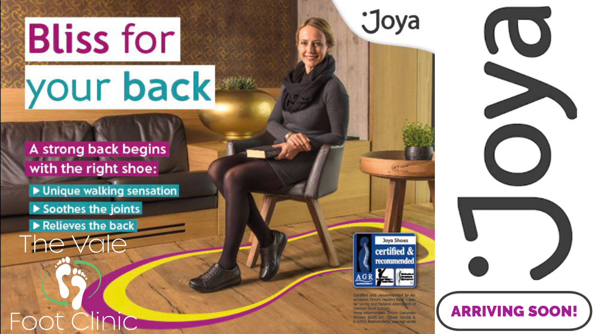 We're really excited to announce that Joya Shoes will soon be arriving in our clinic!