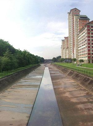 Singrapur - rzeka przed modernizacją
