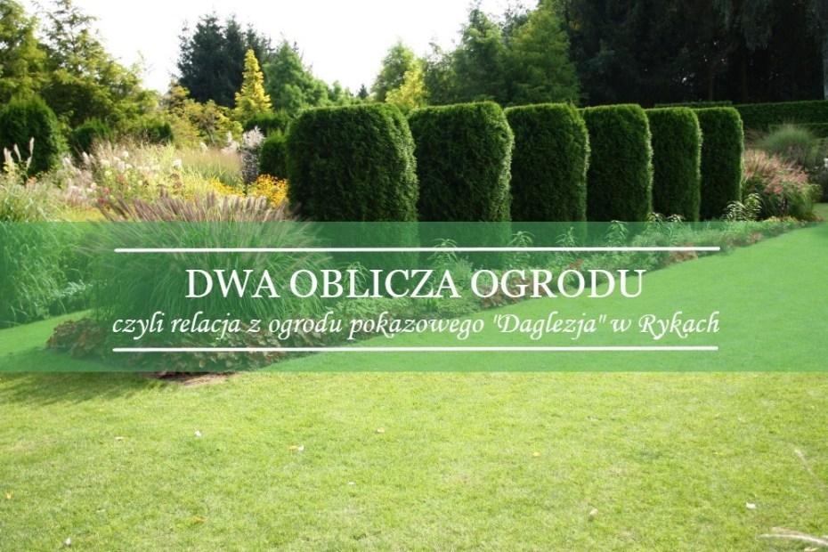 ogród szkółki roślin Daglezja w Rykach
