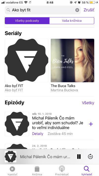 Apple podcasty