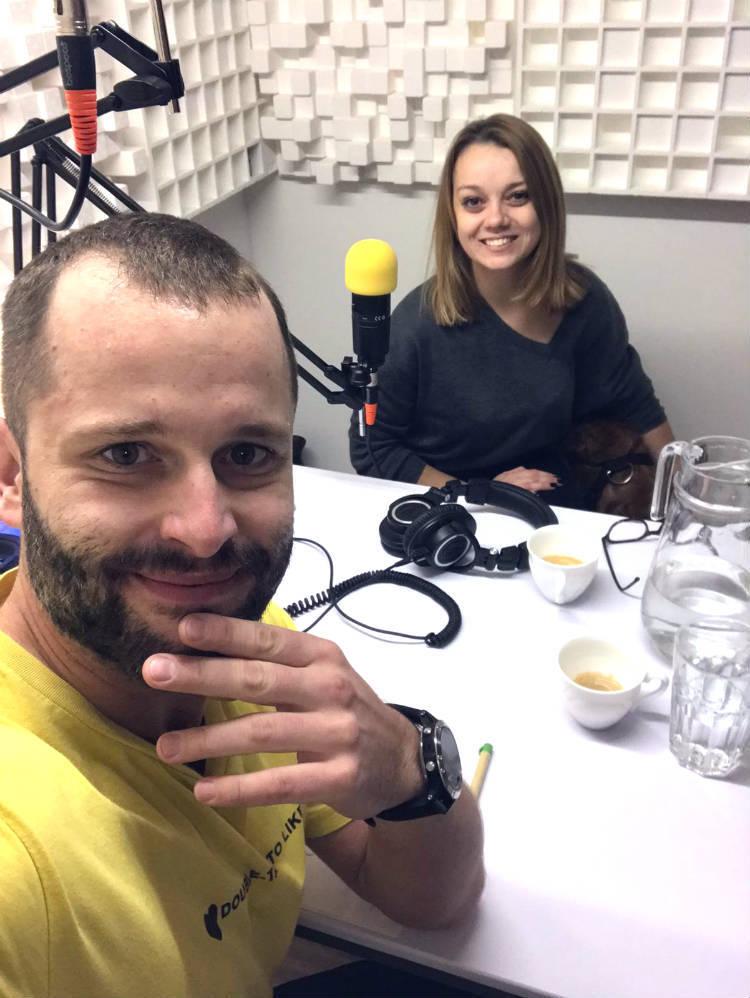 Peťo Chodelka a Katka Hutyrová