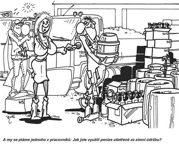 Kreslené vtipy — SMÍŠENÉ