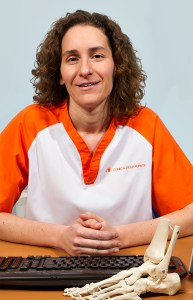 María de la Fuente, podólogo y fisioterapeuta