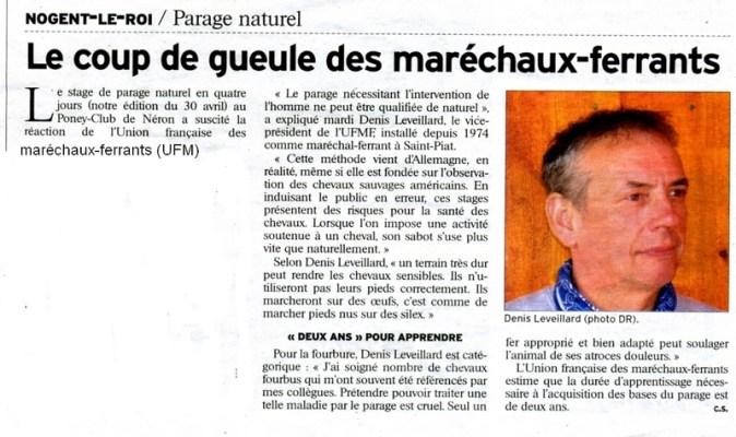 UFM formation parage