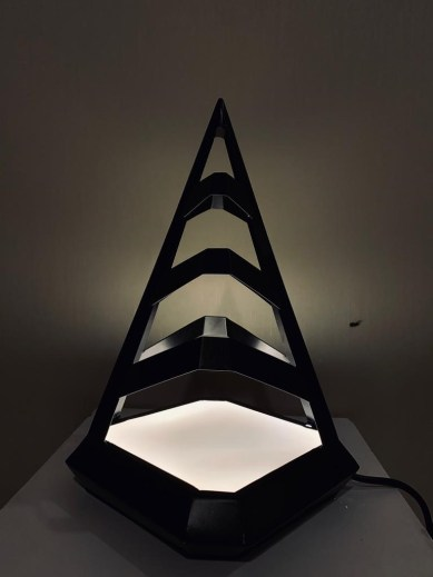 How to Create Table Lamp Base on Design & Exploration
