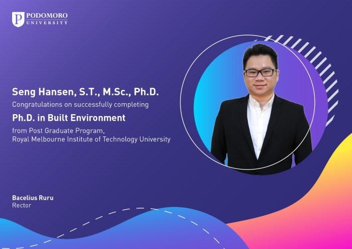 Ph.D in Built Environment