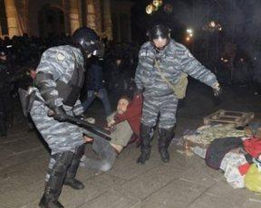 """У """"Беркута"""" новая версия побоища 30 ноября: Они защищали Майдан от провокаторов"""