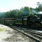 Krośnice – jedzie pociąg z daleka!