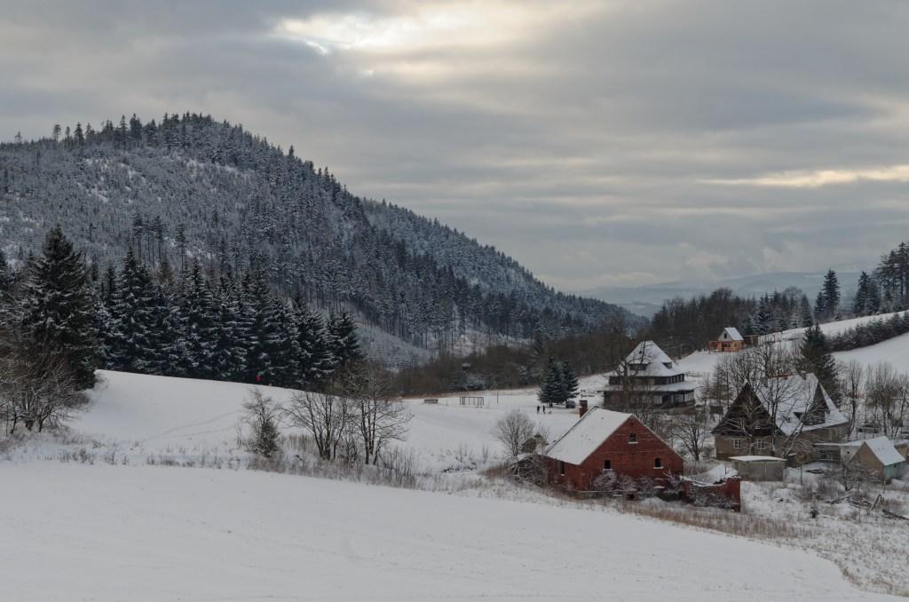 Sokołowsko Góry Suche zima