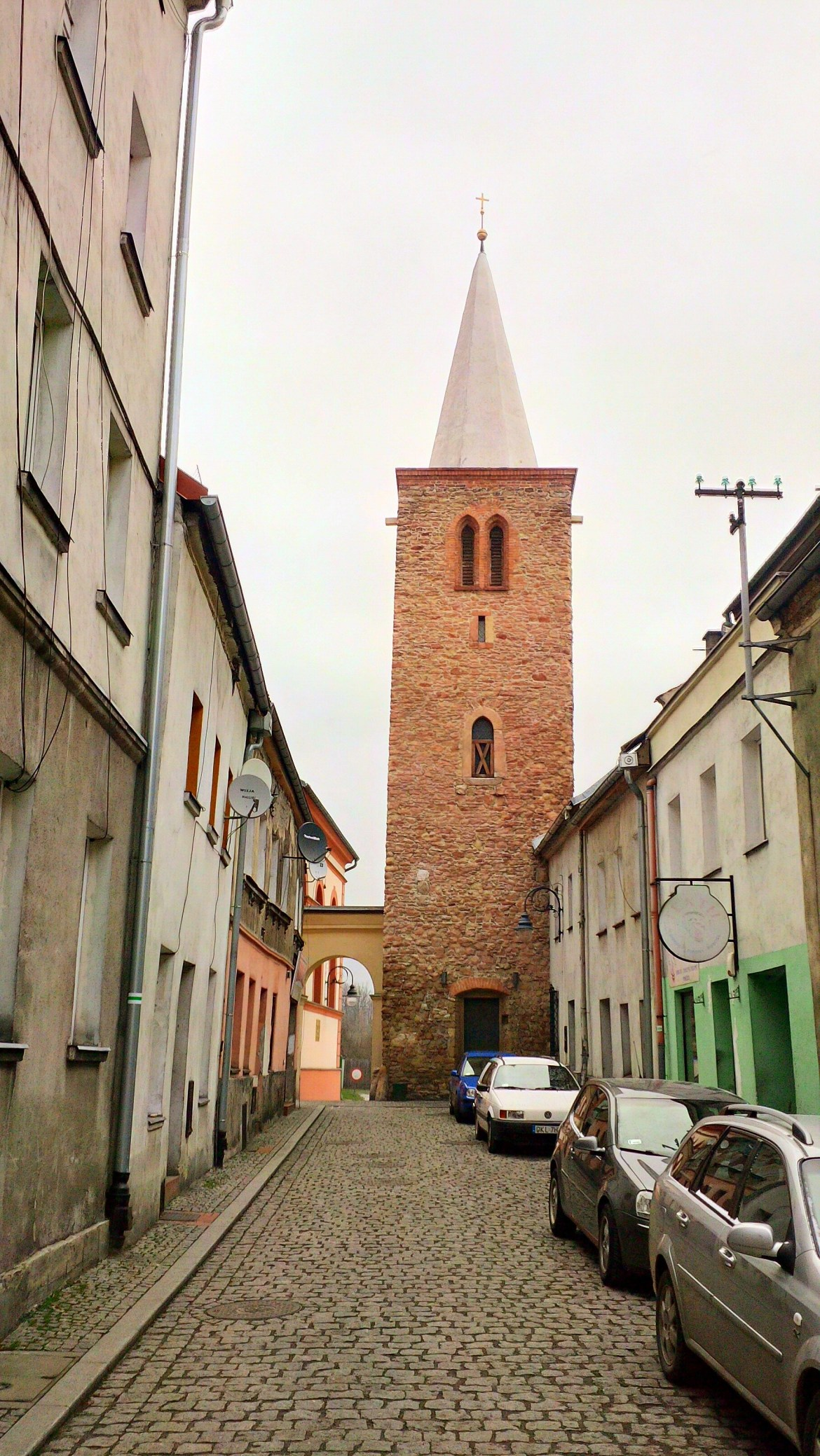 wieża rycerska Bystrzyca Kłodzka