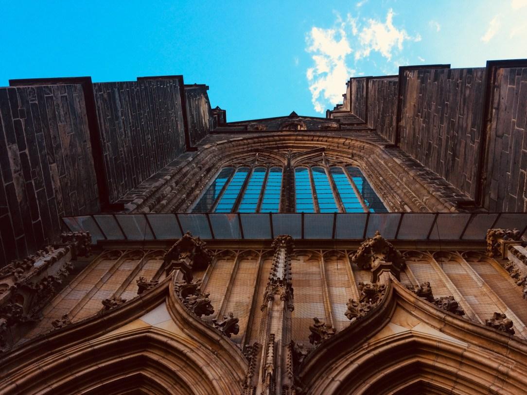 katedra w Świdnicy; największe gotyckie okno; okno; katedra; Dolny Śląsk atrakcje