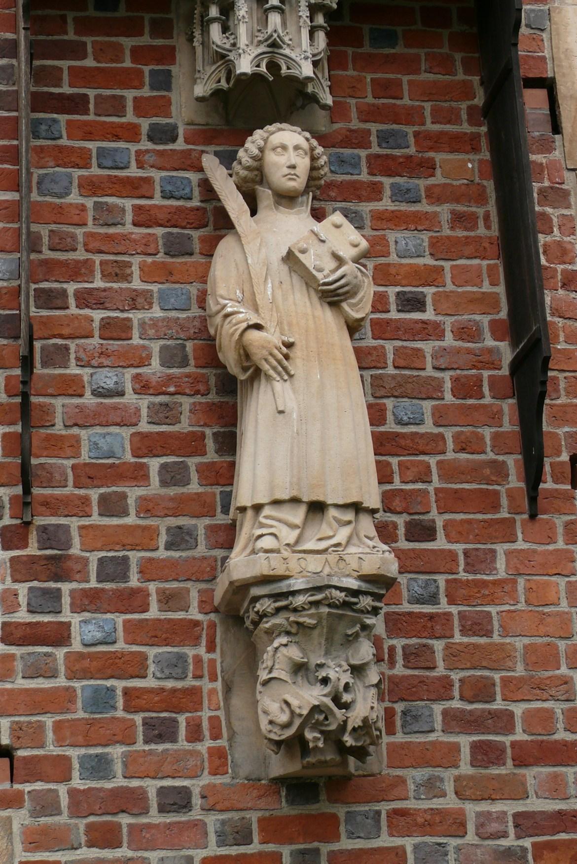 katedra strona południowa święty Wawrzyniec