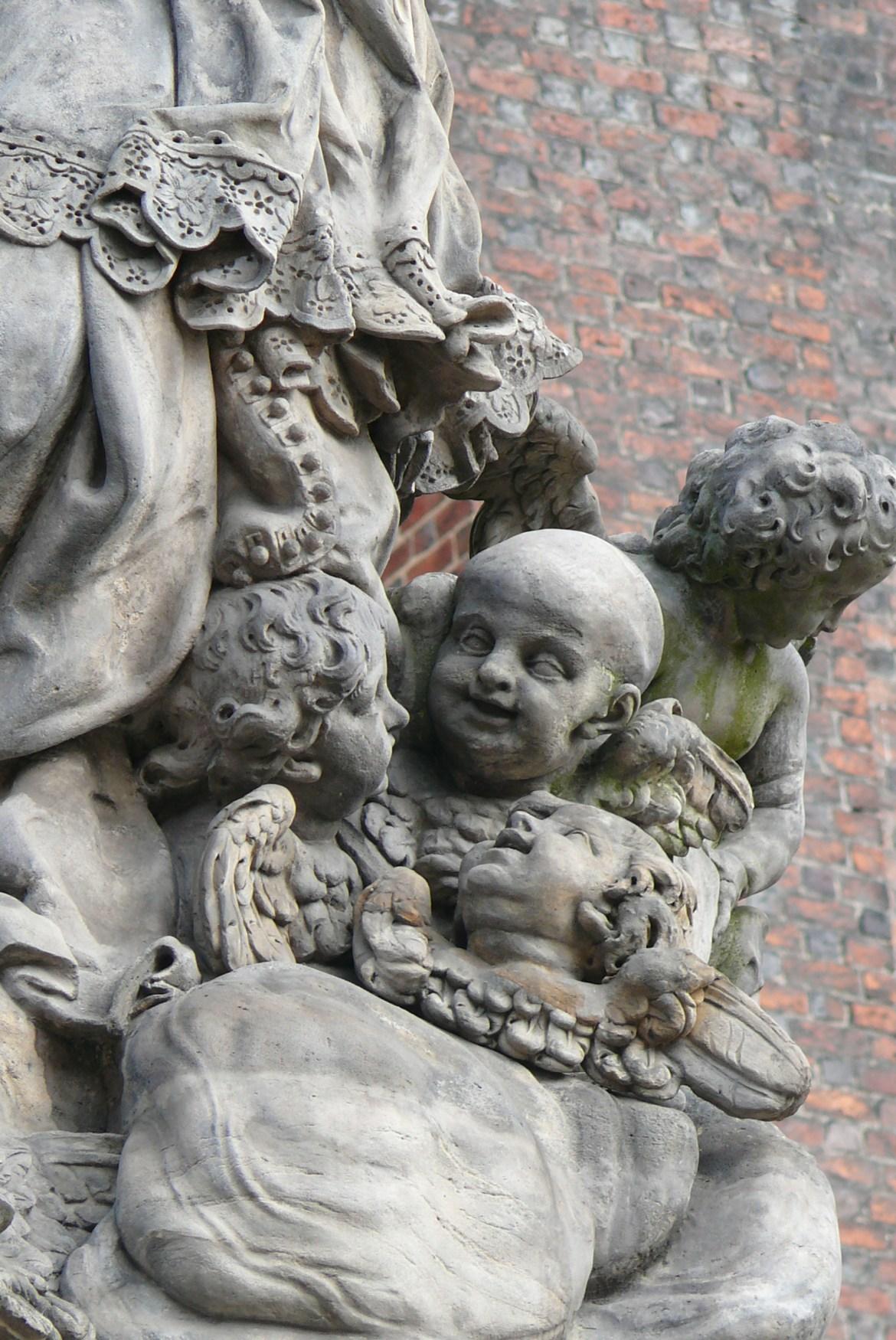 nepomucen plac katedralny aniołek łysy