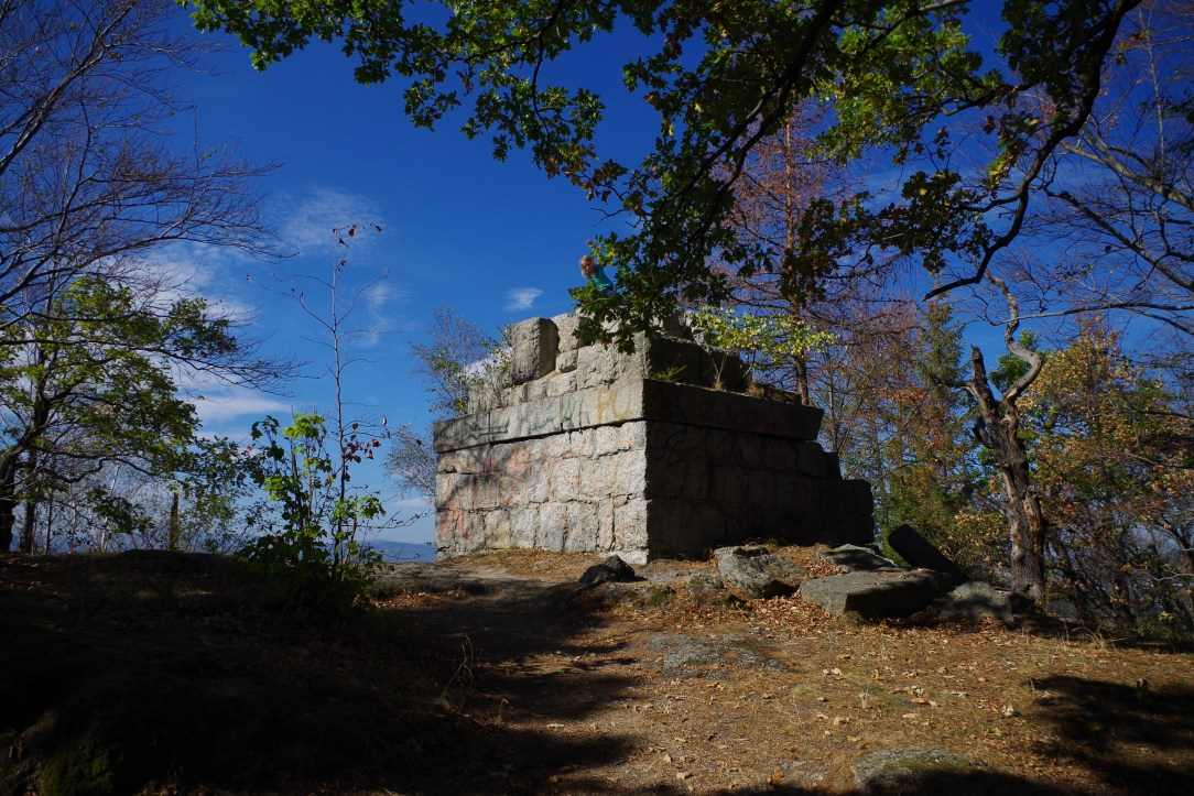 Witosza; karkonosze; wieża Bismarka