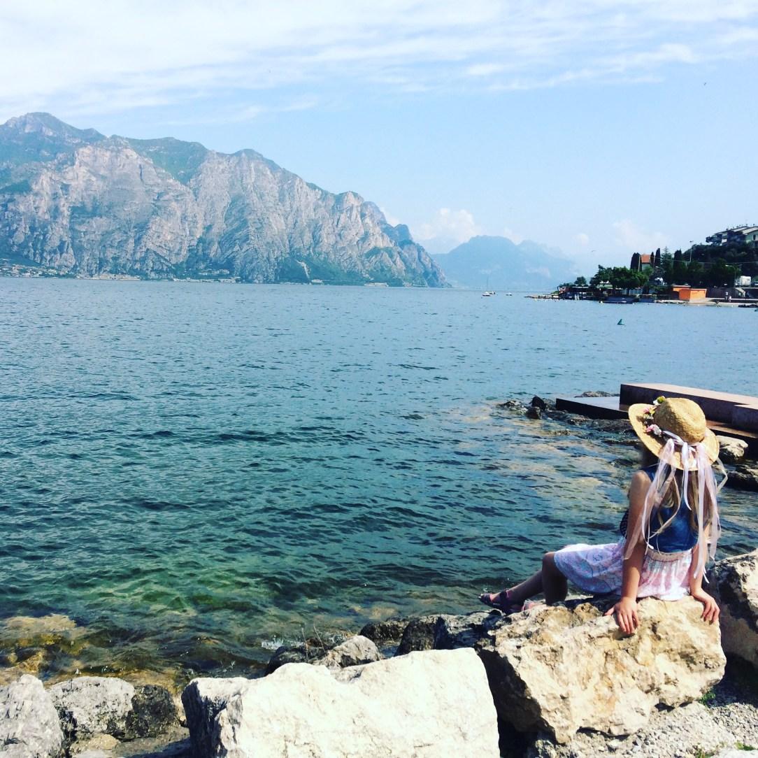 jezioro Garda; widok; Malcesine