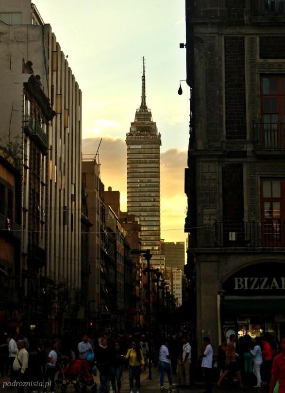 meksyk_mexico city_wieza latino americana2