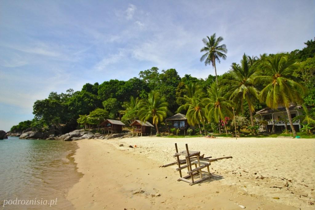 Plaża Keranji na wyspie Perhentian Kecil