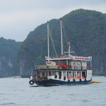 Zatoka Ha Long, wietnam, statek, ship