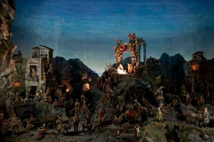 bożonarodzeniowa szopka neapolitańska