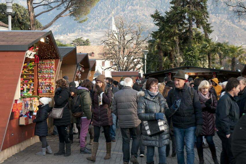 Bożonarodzeniowe jarmarki w Południowym Tyrolu