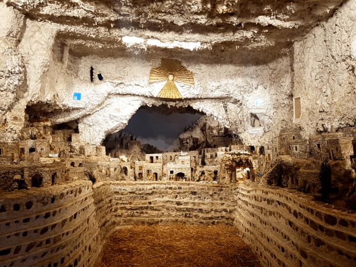 presepe dei Netturbini w Rzymie