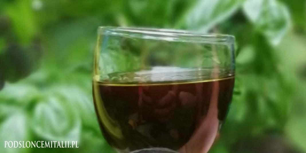 Likier cytrynowo-bazyliowy