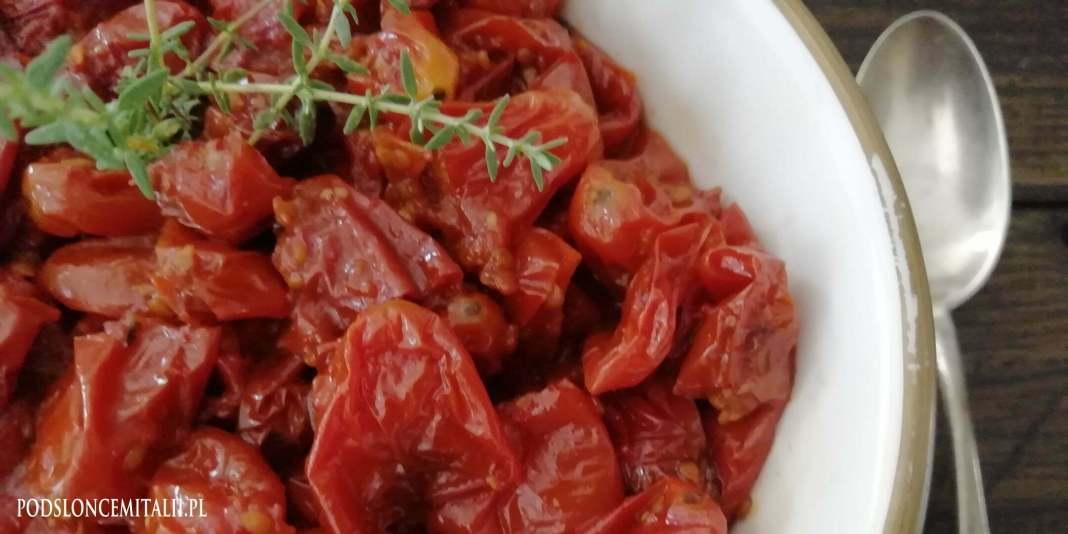 Przepis na pomidorki zapiekane z tymiankiem - tak smakuje lato!