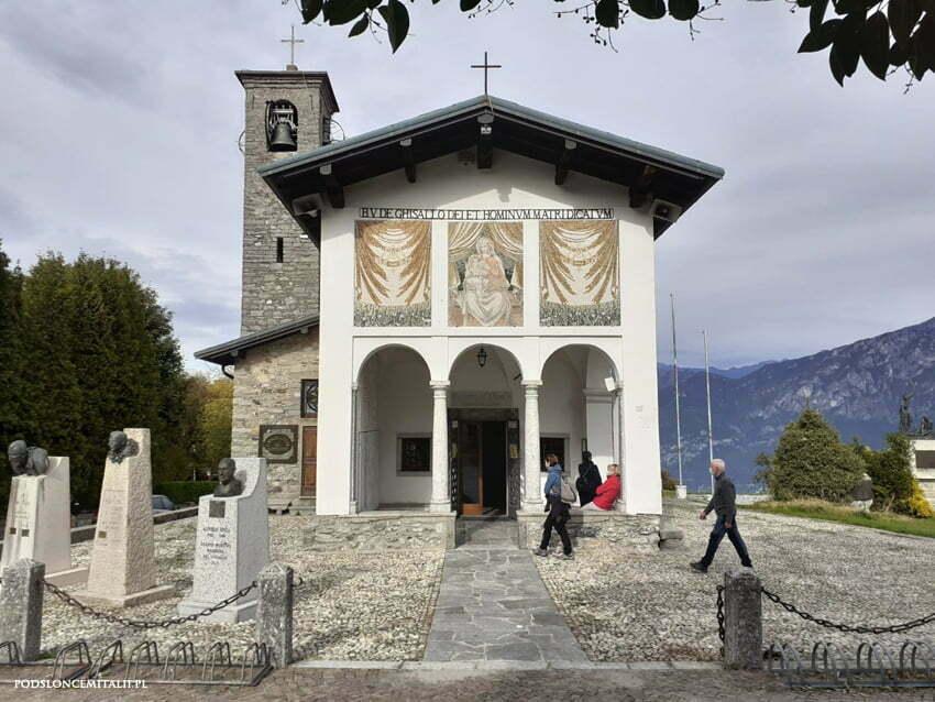 Sanktuarium Madonna del Ghisallo to kościół patronki kolarzy