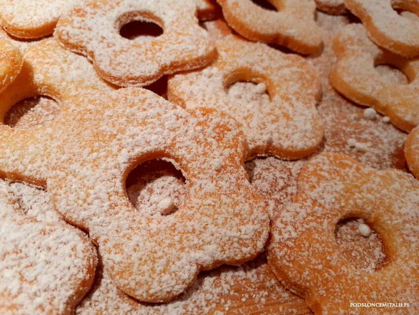 Canestrelli genovesi - maślane ciasteczka z Ligurii