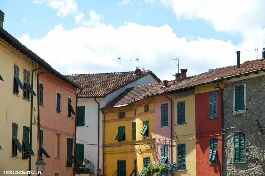 Dlaczego liguryjskie domy są kolorowe?