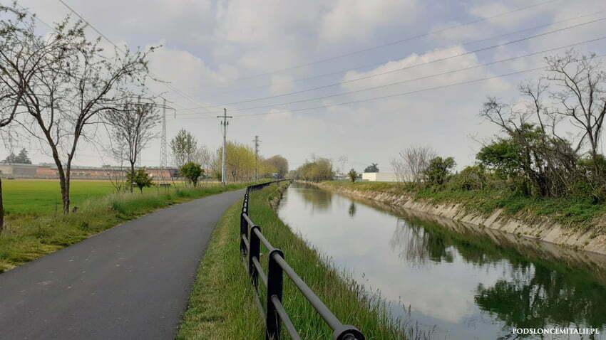 Naviglio Martesana - rowerem wzdłuż kanału Leonarda da Vinci