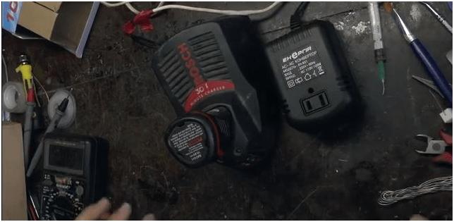 Конвертор для зарядки шуруповерта от электросети