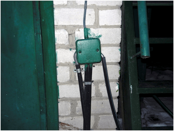 Электропроводка в грунте