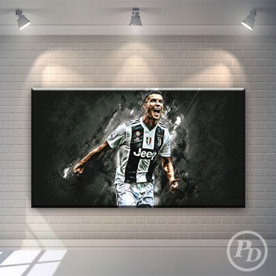 pody design, tablou canvas, cristiano ronaldo, decoratiuni, publicitate,