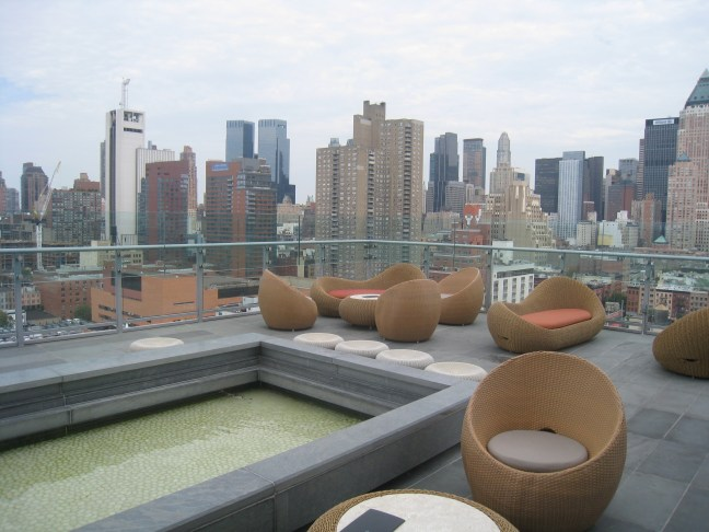 Rooftop at Hotel Ink48 New York
