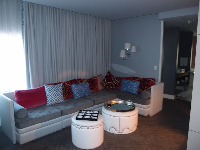Cool corner suite at the W Hotel Austin
