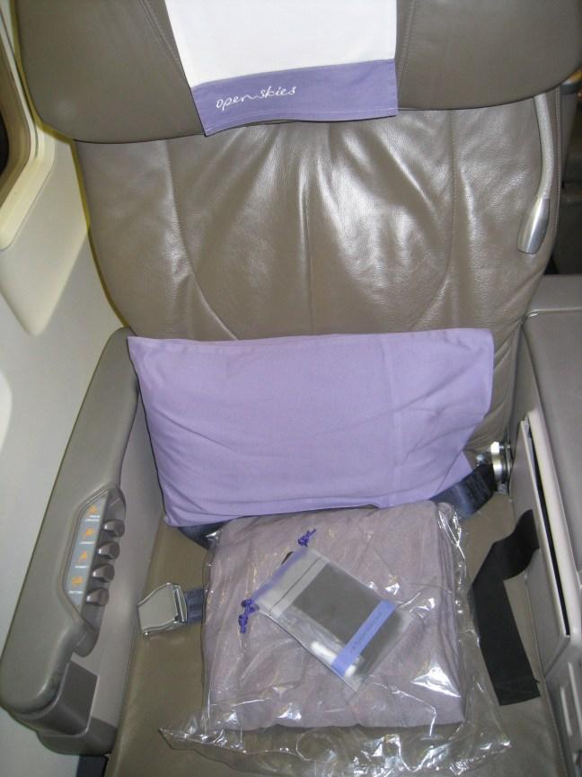 Open Skies seat